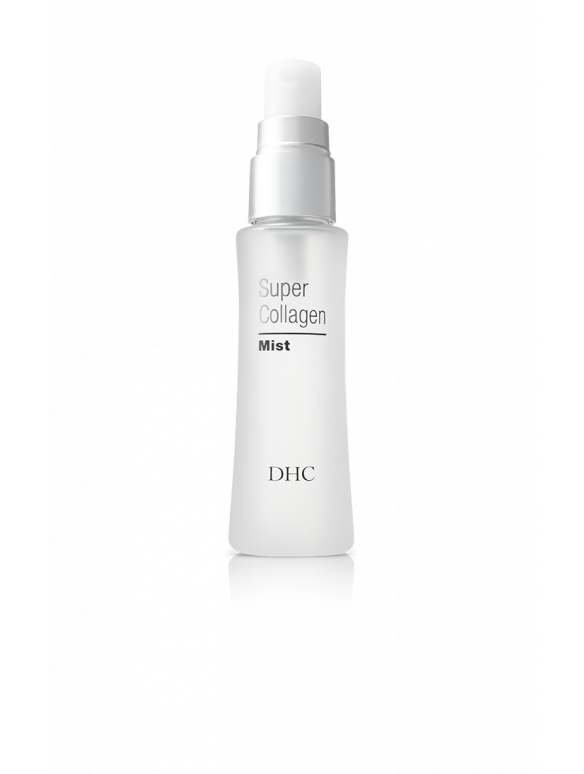 Super Collagen Mist delivers superior hydration, sets makeup and refreshes skin throughout the day.
